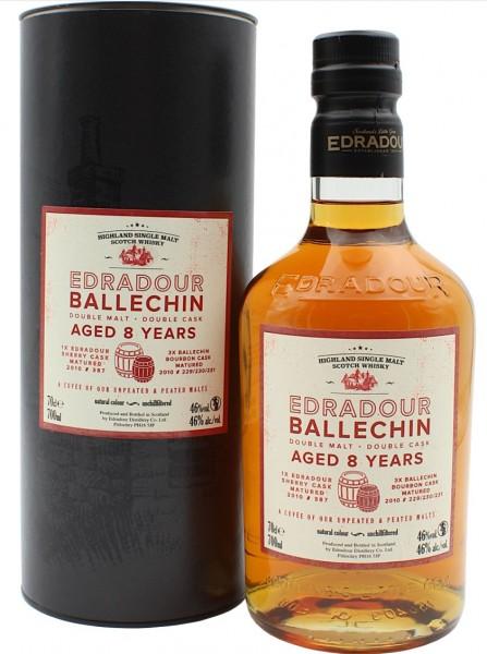 Edradour Ballechin 8 yo. Cuvee 0,7l 46%