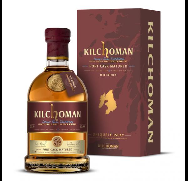"Kilchoman ""Port Cask Matured"", 50%vol. 0,7l"