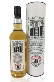 Kilkerran 8 Jahre - Cask Strength - 55,7%vol. 0,7
