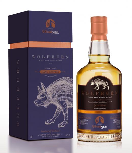 """Wolfburn """"Vibrant Stills"""" 50%vol, 0,7l"""