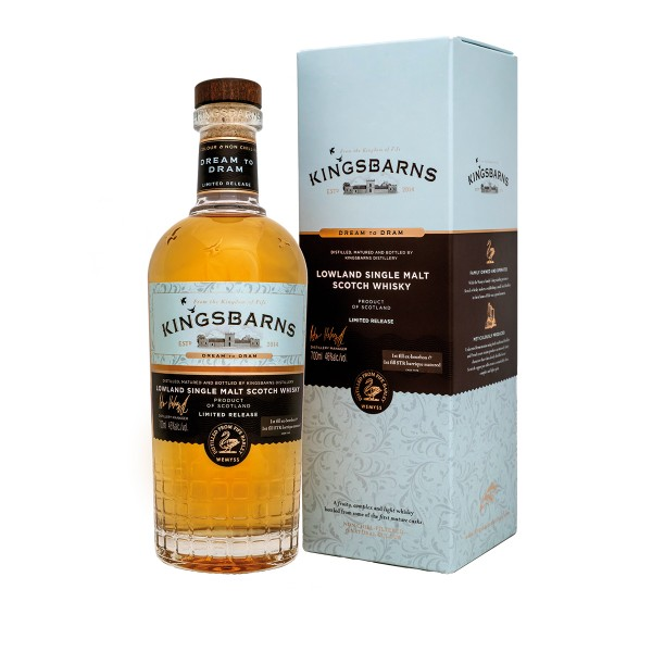 "Kingsbarns ""Dream to Dram"", 46%vol. 0,7l"