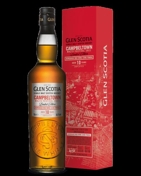 Glen Scotia 10 y.o. Campbeltown Malts Festival 2021 56,1 % vol. 0,7l