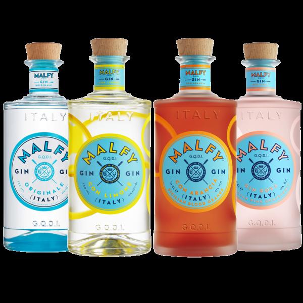Malfy Gin Range - Mini Collection 4 x 0,05 l 41% vol.