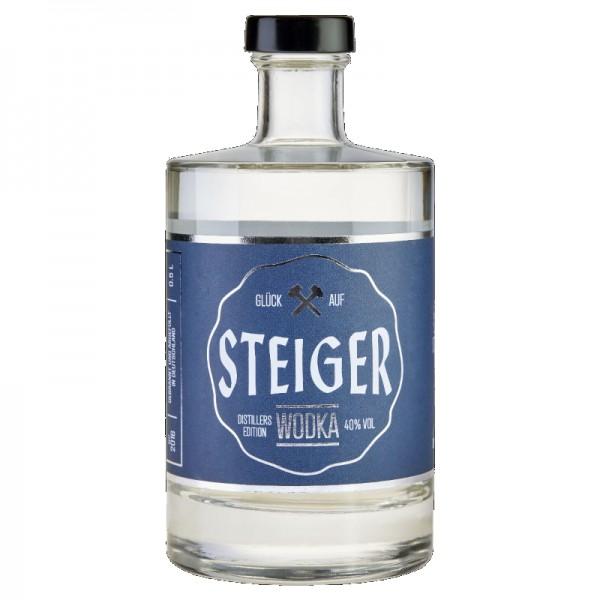 Steiger Wodka – Distillers Edition 40% vol., 0,5l