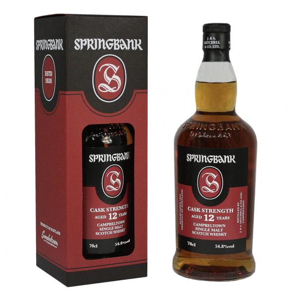 Sprinbank 12 Jahre C.S. 54,8%vol. 0,7l