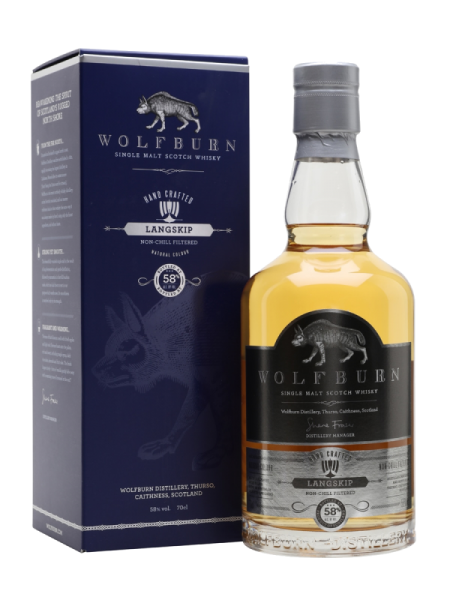 Wolfburn Langskip 58,0%vol, 0,7l