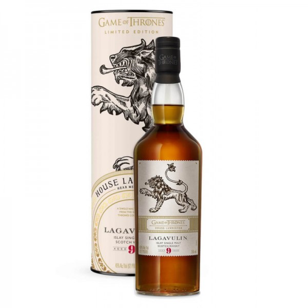 Game of Thrones Lagavulin 9 Years House Lannister