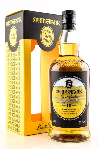 "Springbank ""Local Barley"" 10 Jahre 2021 55,6% vol. 0,7 l"