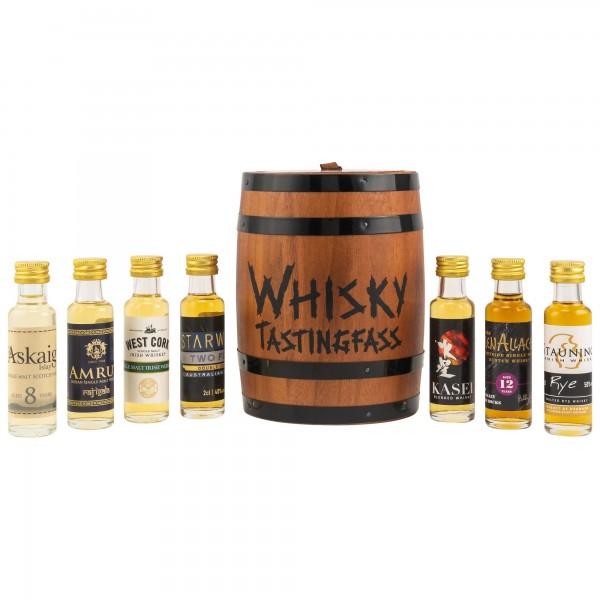 Whisky Tasting Fass 7x 0,02l 43,10%