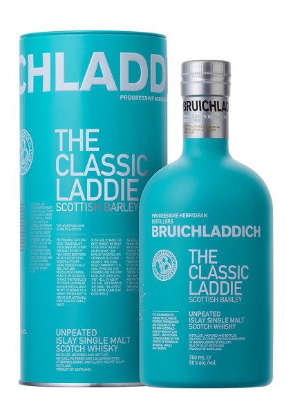 Bruichladdich Classic / Scottish Barley 50% vol. 0,7l