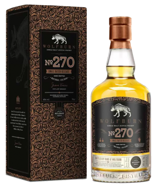 Wolfburn No. 270 Small Batch Release - 46%vol. 0,7l