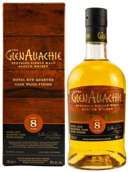 GlenAllachie 8 y.o. Koval Rye Wood Finish 48,0% 0,7l