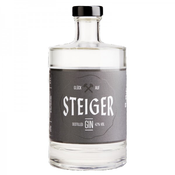 Steiger Destilled Gin, 42% vol., 0,5l