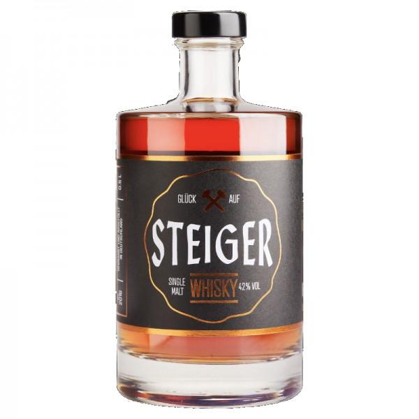 Steiger Whisky – limitierte Edition 42% vol., 0,5l
